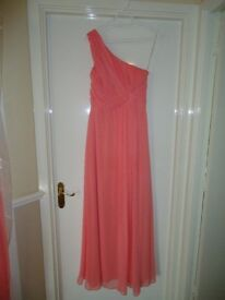 Bridesmaid dress Coral Size 10 (others available)
