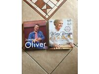 Jamie Oliver & Mary Berry hardback cookbooks