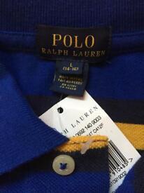 NEW Ralph Lauren Polo Shirt for Children Size L