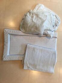 Change mat, blanket, sheets