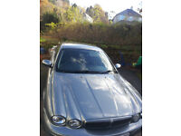 Jaguar X-Type XS LE D, grey, walnut dash, tinted windows, 9 mon MOT, Taxed