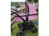 Babystlyle Egg stroller STRICTLY PINK