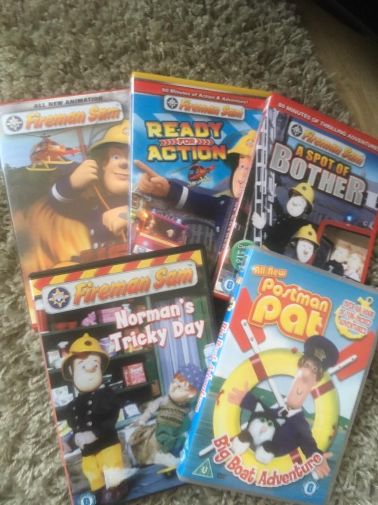 Fireman sam postman pat DVDs in Totton Hampshire  : 86 from www.gumtree.com size 768 x 1024 jpeg 103kB