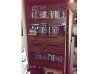Mango wood storage unit