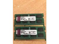 RAM for Mac Book Pro 2 x 8G and 2 x 4G