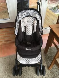 Silver Cross 3D monochrome travel system