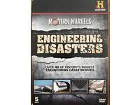 Engineering Disasters Hustory Channel 5 DVD Box Set
