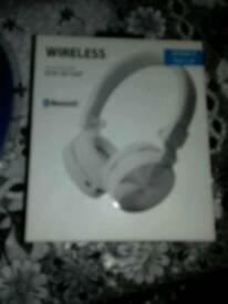 Headphone bluetooth plus wireless new