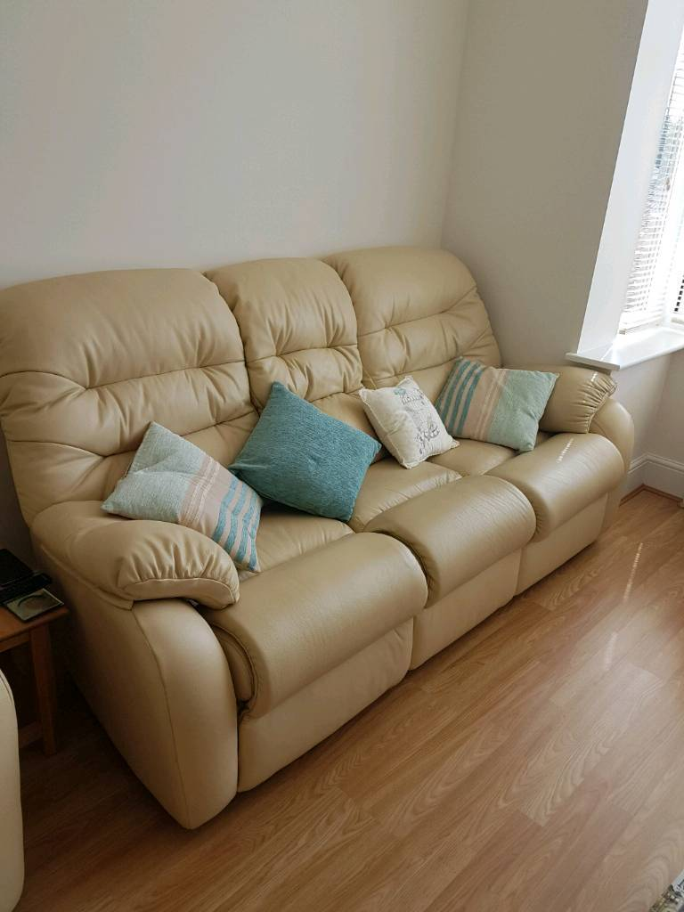 G plan westbury capri cream leather sofa manual for Westbury leather sofa