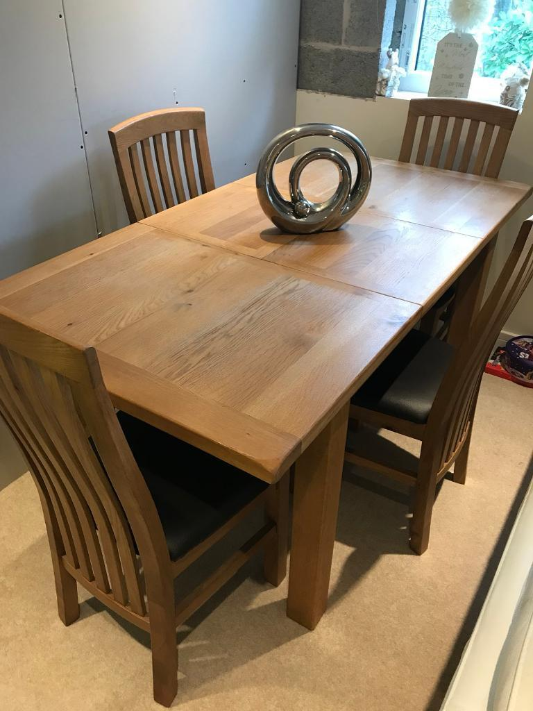 Extending Table 4 Chairs For Sale