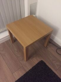 Small brown table