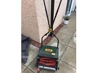 Webb push lawnmower.