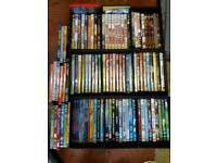 job lot 100+ kids dvds