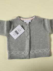 New! Baby girl cardigan, little white company