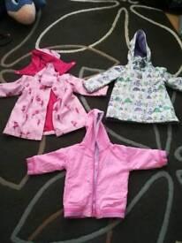 Girls coats 18-24 months