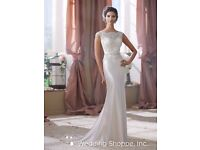 BNWT David Tutera for Mon Cheri Wedding Dress