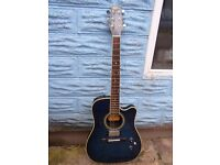 Washburn Mirage Deluxe (thin bodied) electro acoustic guitar