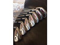 Left handed Nike VR Pro cavity 4-PW irons