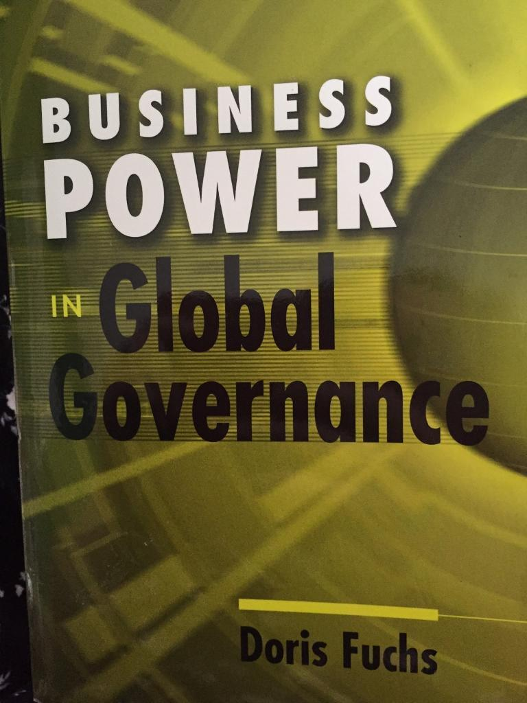 Business power in Global Governments