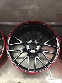 "MERCEDES C63 AMG ALLOYS 19"" ORIGINAL"