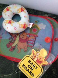 2 X Disney Car Sun Shade Winnie The Pooh