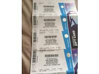 Stone Roses tickets x4