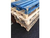 Wood pallets for free