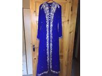 Blue Asian Dress