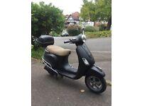 2010 VESPA LX 125cc SCOOTER WITH MOT ££1049