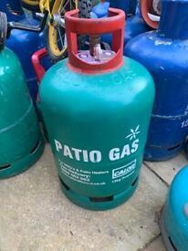 CALOR 13KG PATIO GAS BOTTLE - EMPTY - SAVE THE DEPOSIT
