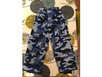 Boys Boden ski trousers/salopettes size 6-7yrs