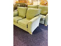 like new MODERN 3/2 FABRIC SUITE