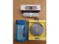 BLUETOOTH WIRELESS SPEAKERS BRAND NEW WITH RECEIPT