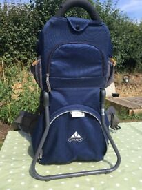 Vaude baby/child carrier backpack hiking