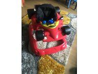 Hauck red car walker