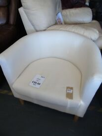White Bucket Chair