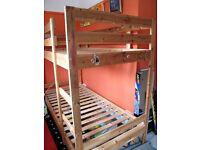 Bunk Bed Wooden Frame
