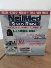 Neilmed sinus rinse kit with 55 pre mixed sachets