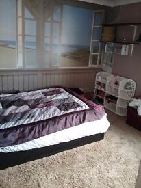 Double room to let in corby village, close to all amenities, nice tidy house must be working.
