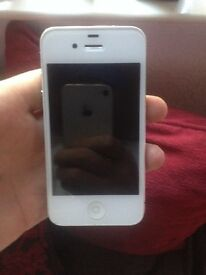 Mint condition white I phone4s