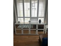 White/Glass Sideboard
