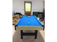 Young persons pool table