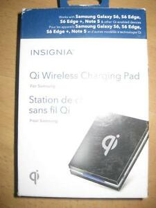Insignia Qi Wireless Charging Mat / Pad and Wall Charger. Samsung Galaxy S7, S8, S9. Note 8. Smart Phone. iPhone 8 / X