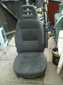Single car seat