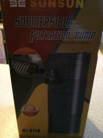 Fish tank filter pump. New