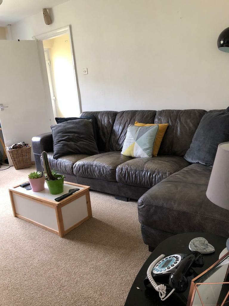 Peachy Large Corner Sofa In Plymouth Devon Gumtree Ocoug Best Dining Table And Chair Ideas Images Ocougorg