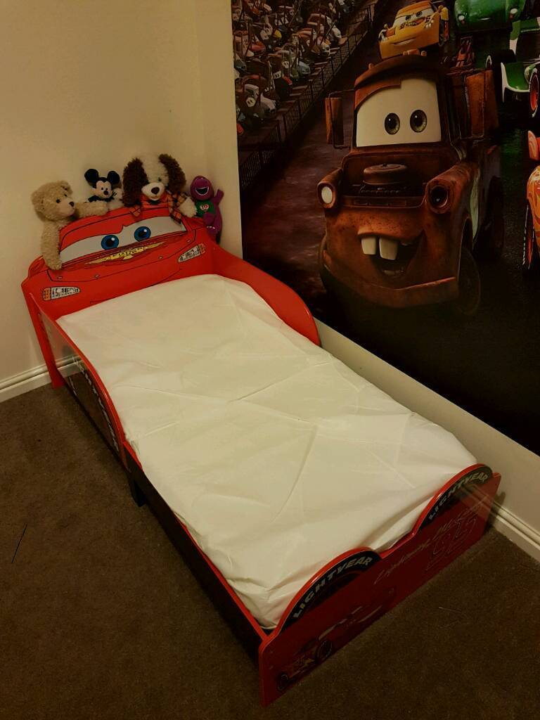 Disney cars junior bed