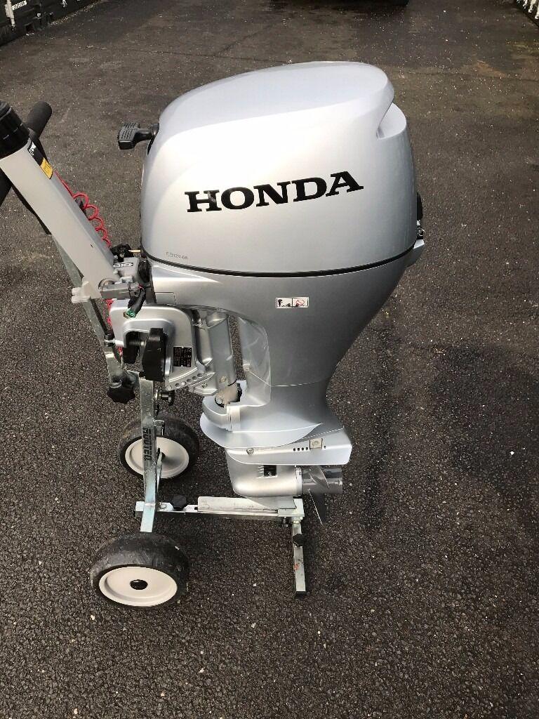Honda BF10D 10hp Outboard motor engine short shaft 2014 model 3 years  warranty