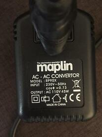 Step down voltage converter 220v to 110v