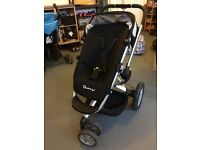 Quinny Buzz Travel System in great condition (pink & black seats)